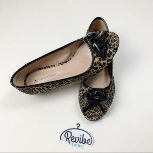 Naturalizer Leopard Printed Low Heel Pumps D